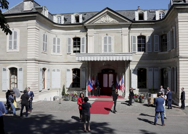 Женева в день саммита Россия-США