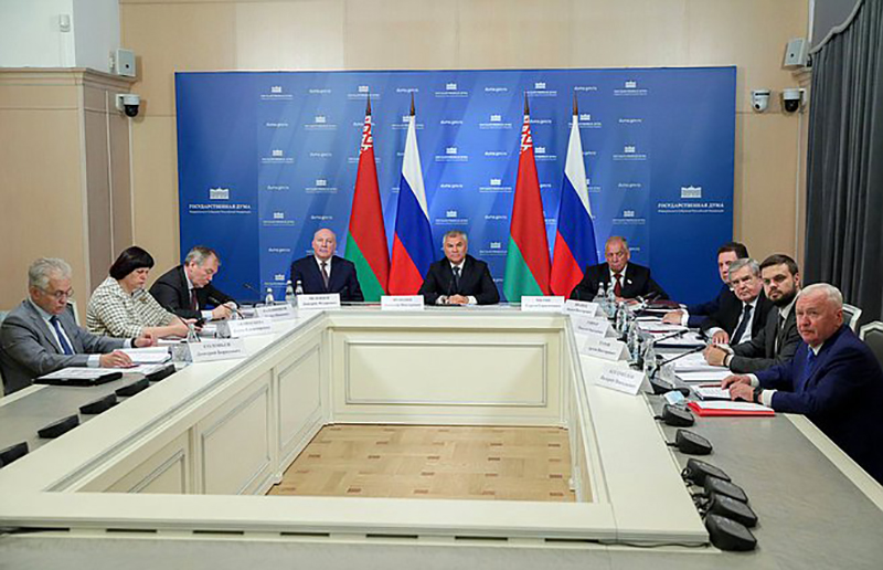 Парламентарии России и Белоруссии