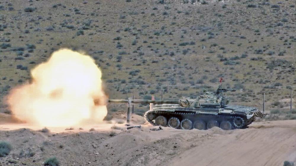 Танк Т-72 Сирийской армии