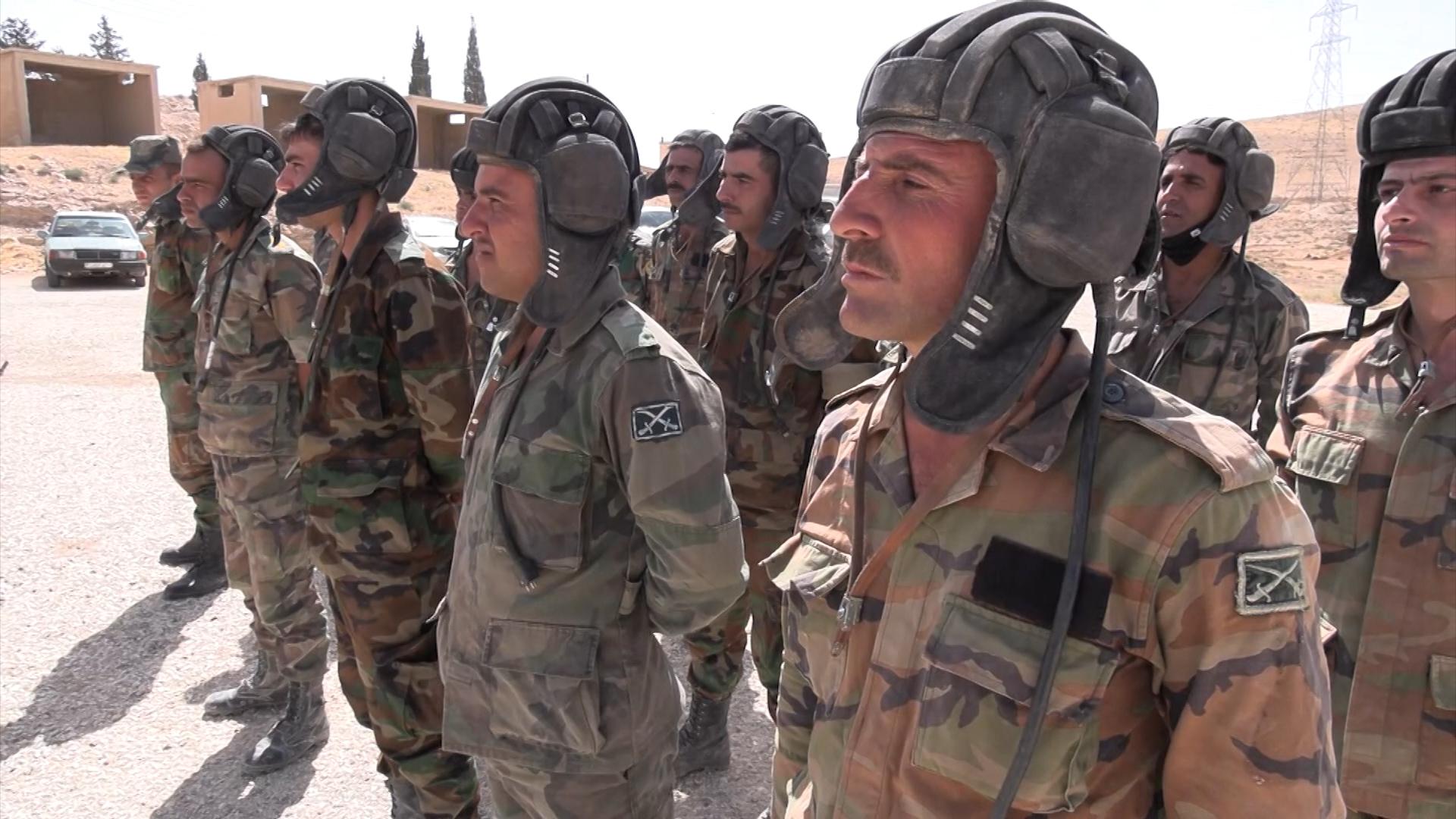 Сирийские танкисты