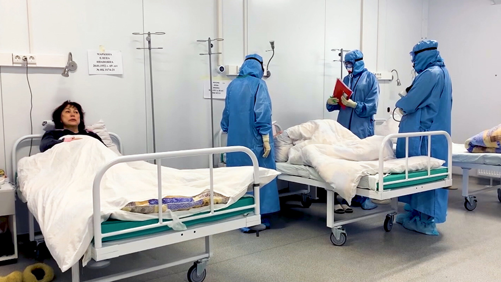 Врачи инфекционного отделения больницы