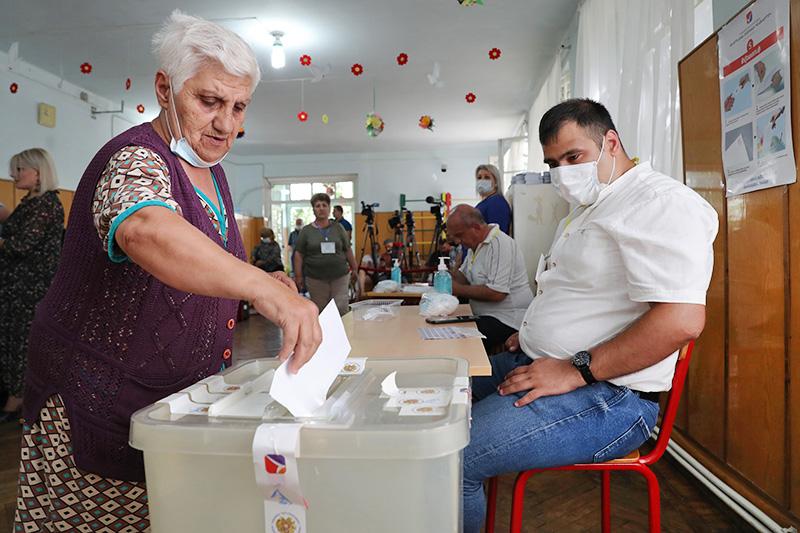 Голосование в Армении