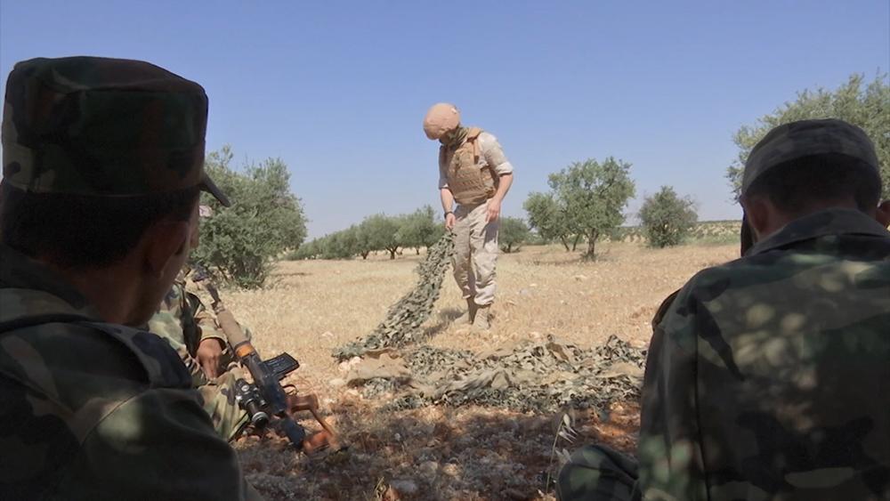 Снайперы в Сирии