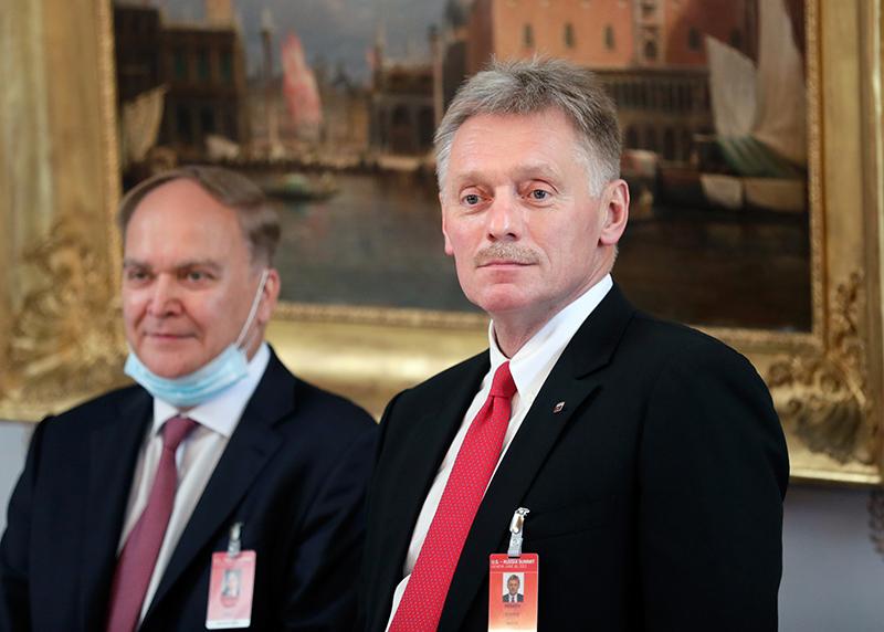 Анатолий Антонов и Дмитрий Песков