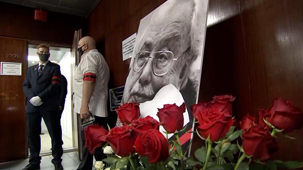 Церемония прощания с журналист Анатолием Лысенко