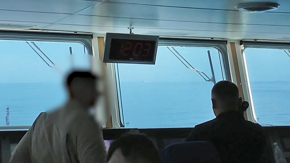 Экипаж корабля ВМФ России