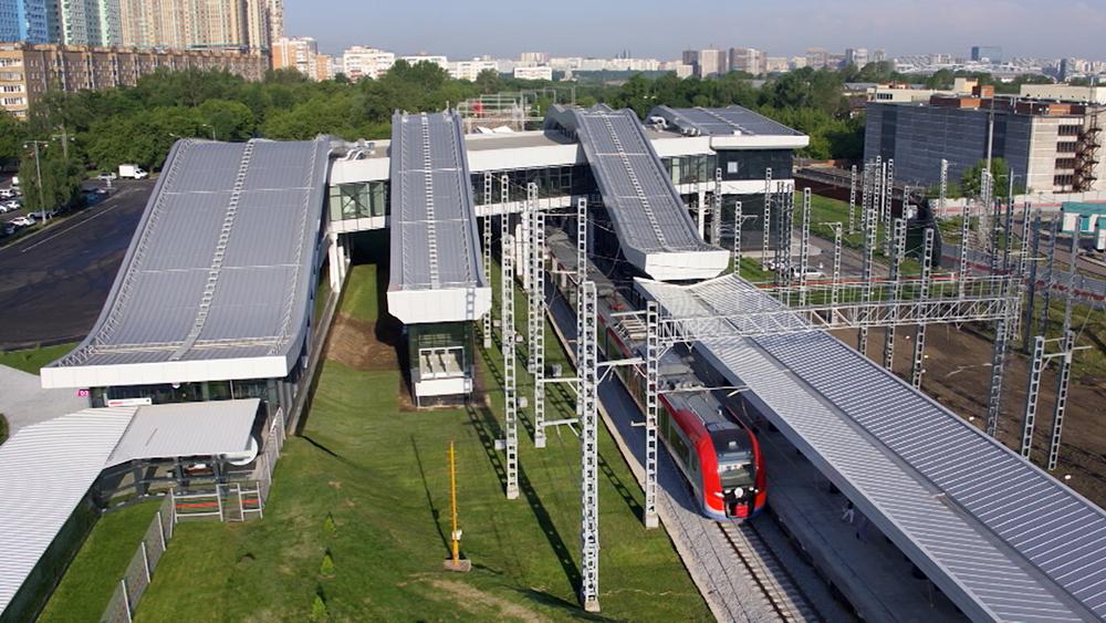 """Станция """"Щукинская"""" МЦД-2"""