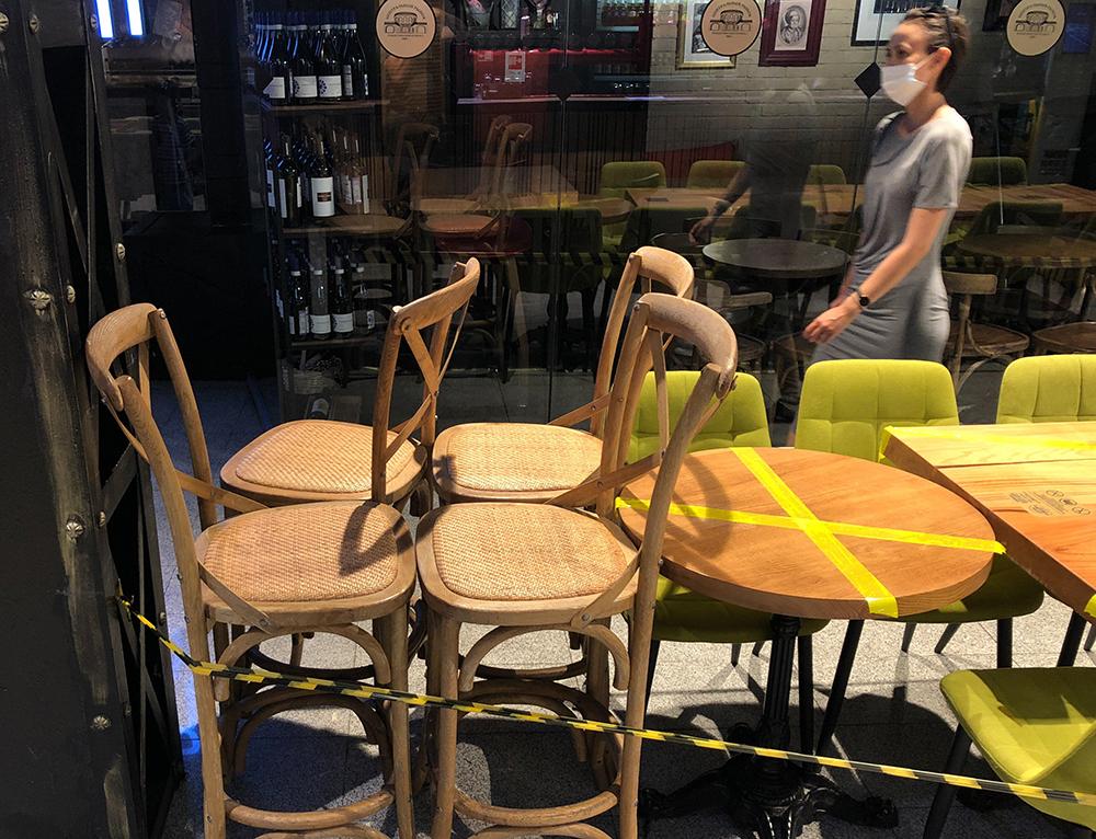 Ограничения на работу ресторанов