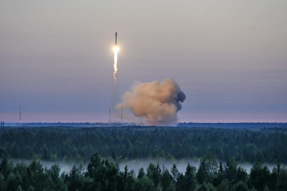"""Запуск ракеты """"Союз-2"""""""