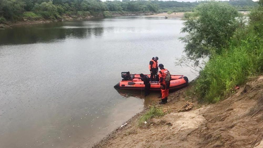 Поисковая операция на реке
