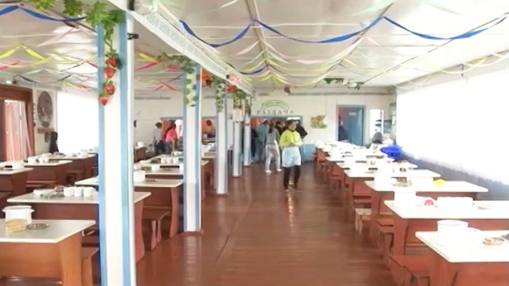 Детский лагерь в Туве