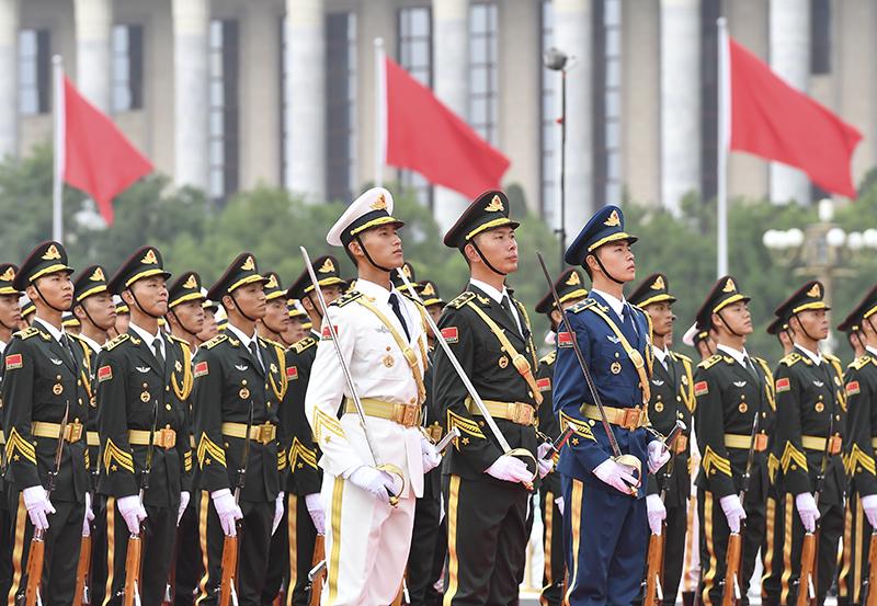 Торжества посвященные столетию Коммунистической партии Китая