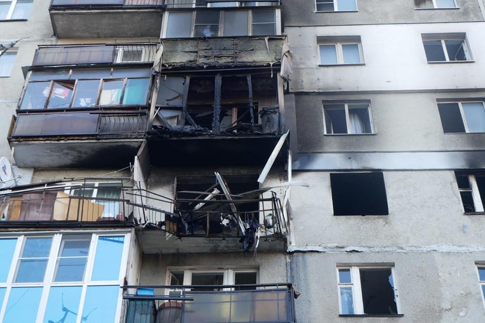 Взрыв газа в нижегородском доме