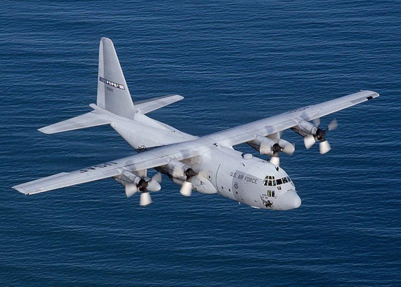 Грузопассажирский самолёт Lockheed C-130