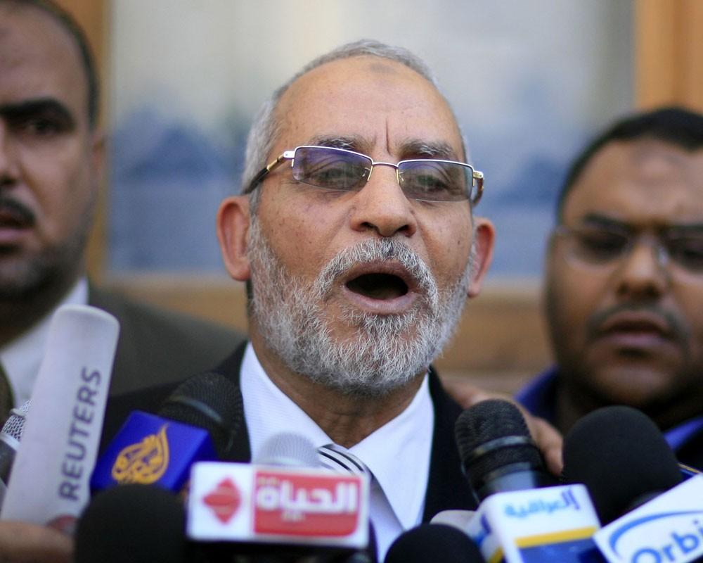 """Лидер движения """"Братья-мусульмане"""" Мухаммед Бадиа"""