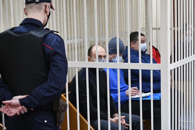 Виктор Бабарико в зале суда