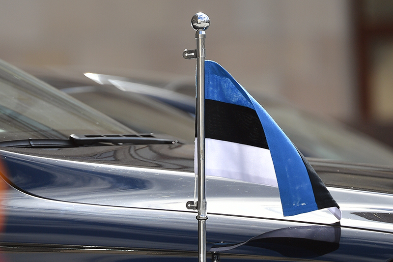Автомобиль посольства Эстонии
