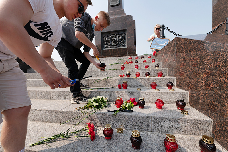 Трехдневный траур объявлен в связи с авиакатастрофой самолета Ан-26 на Камчатке