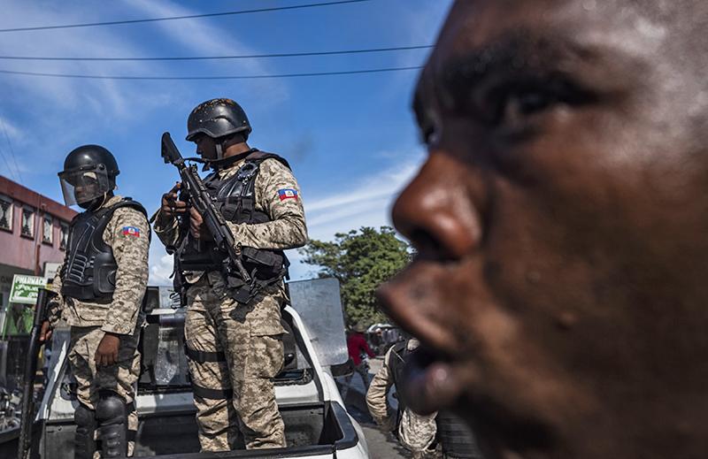 Спецназ полиции Гаити