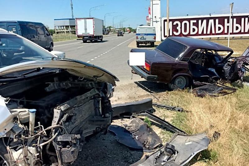 Последствия ДТП на трассе