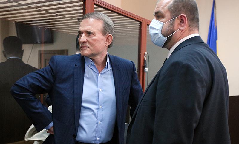 Виктор Медведчук в суде