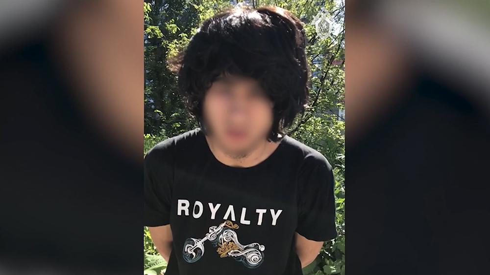 Задержанный по подозрению в подготовке теракта