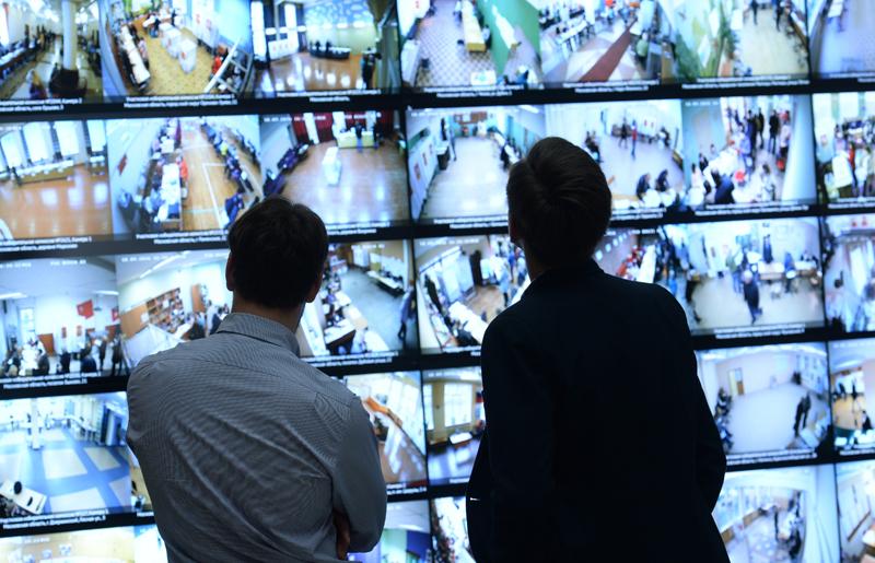 Трансляция изображений с камер наблюдения, установленных на избирательных участках