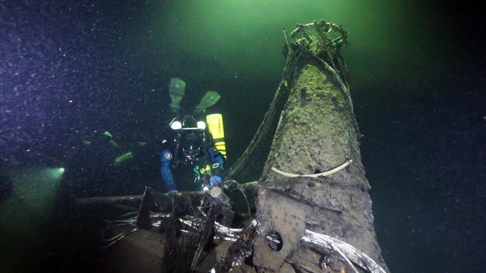 Затонувшая подводная лодка
