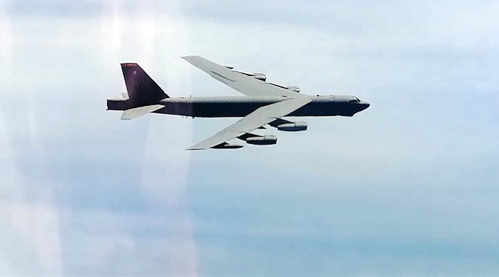 Бомбардировщик B-52Н ВВС США