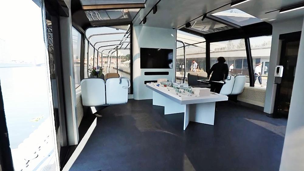 Прототип нового речного трамвайчика