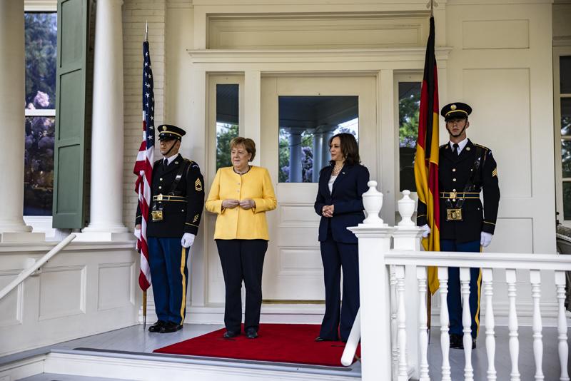 Визит Ангелы Меркель в США