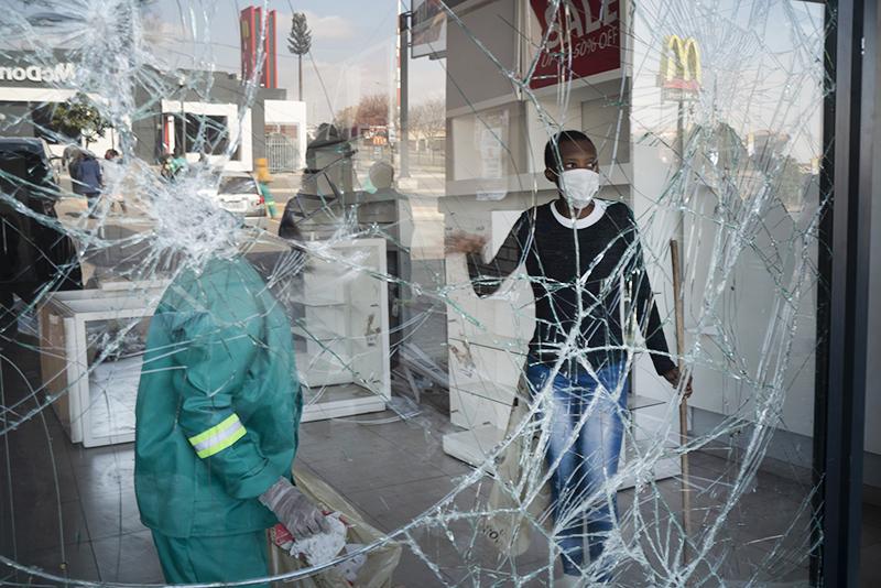 Последствия беспорядков в ЮАР