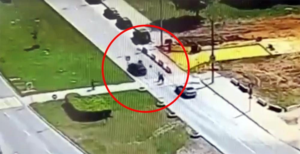 Автомобиль сбил трех детей в Москве