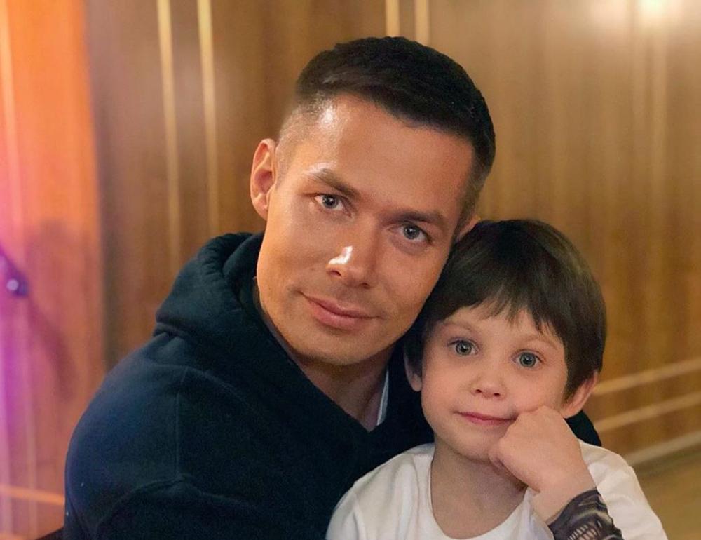 Стас Пьеха и сын Петя
