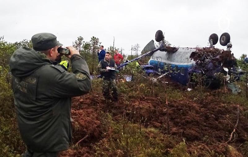 Расследование авиапроисшествия с самолетом Ан-28