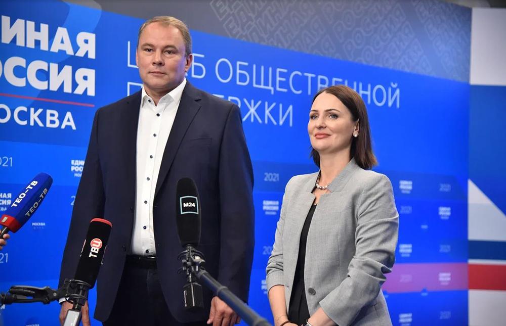 Пётр Толстой и Татьяна Буцкая