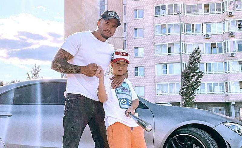 Антон Гусев и его сын