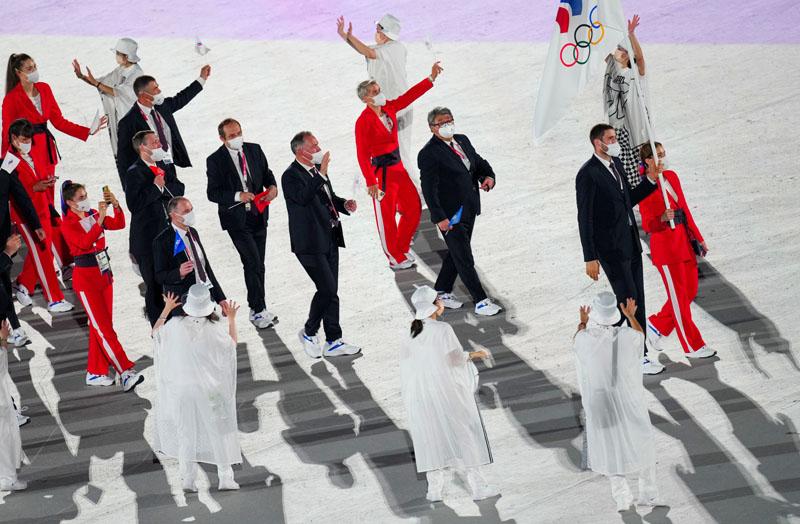 Российские спортсмены, члены сборной России (команда ОКР)