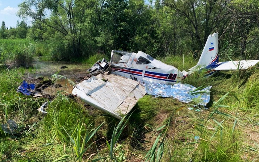 Крушение легкомоторного самолета под Хабаровском