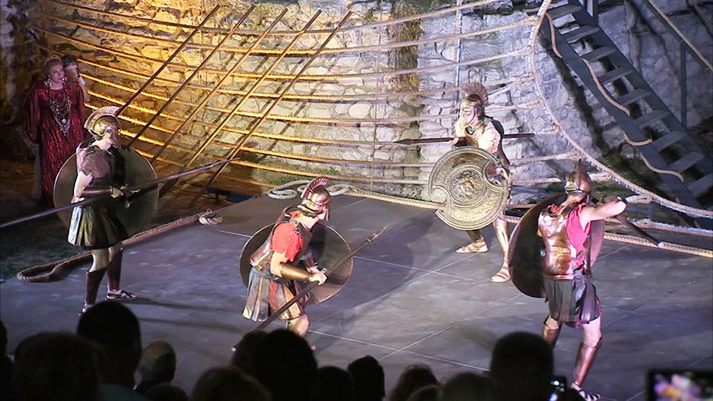 Спектакль о Троянской войне