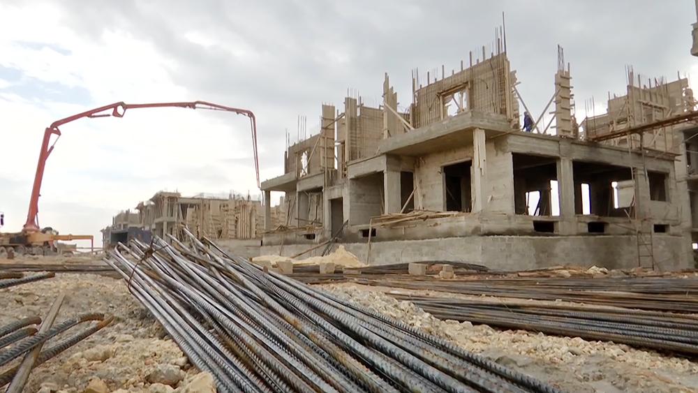 Строительство жилья в Сирии