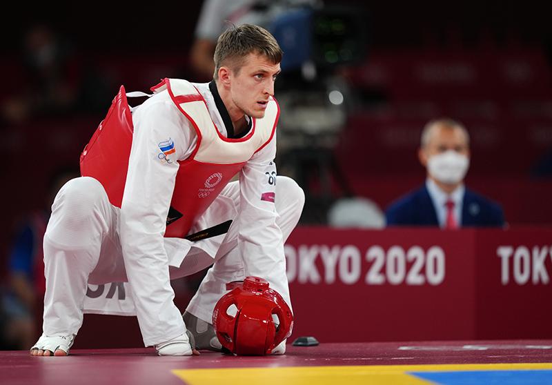 Российский спортсмен, член сборной России Владислав Ларин