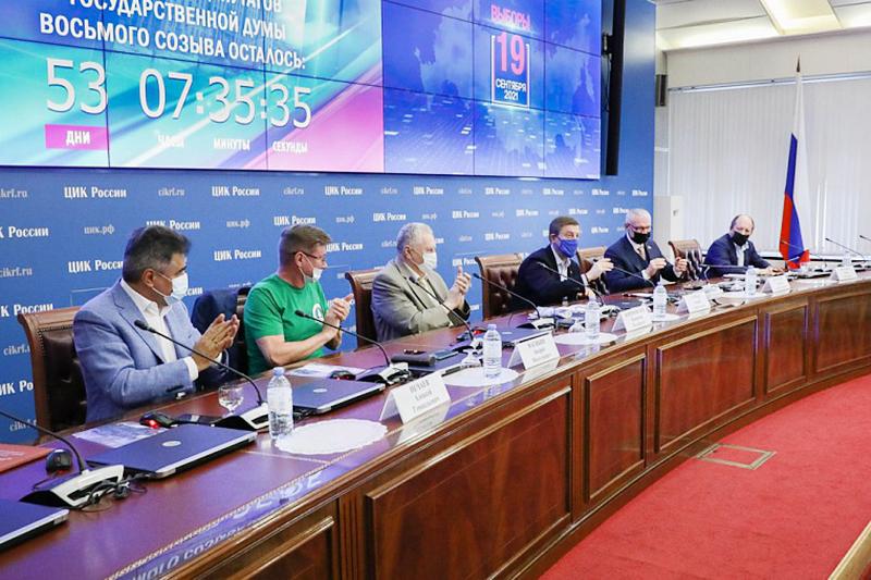"""Подписание соглашения """"За безопасные выборы"""" в ЦИК"""