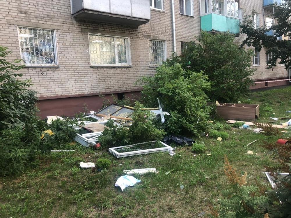 Взрыв в Барнауле