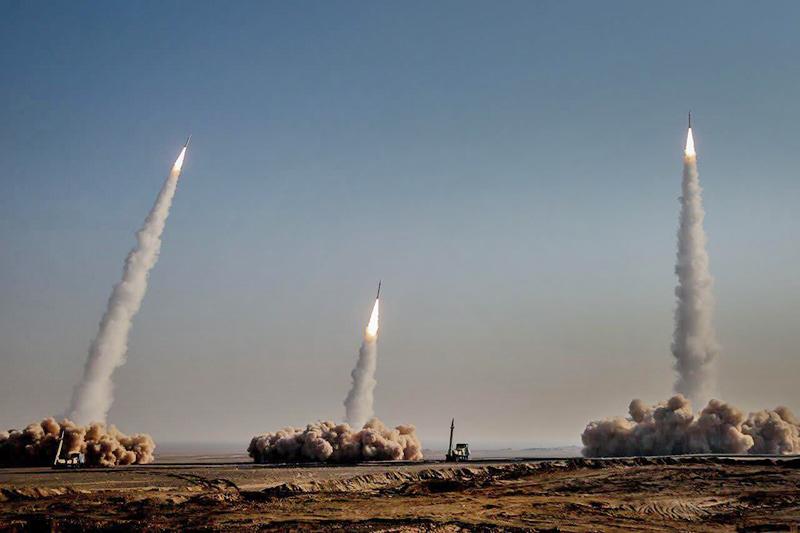 Пуск баллистических ракет
