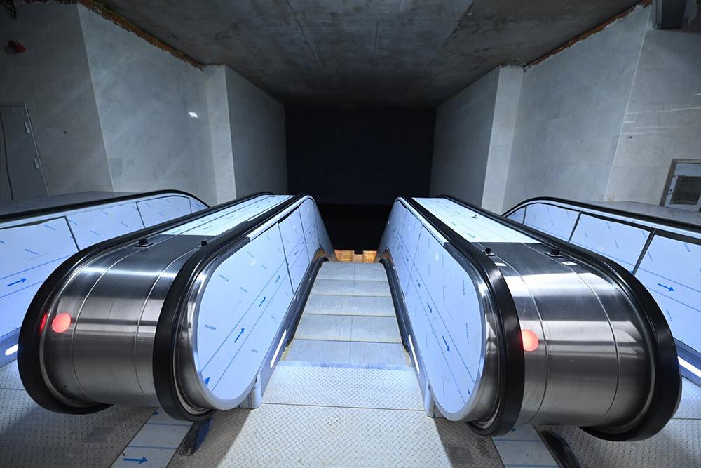 Строительство новой станции метро