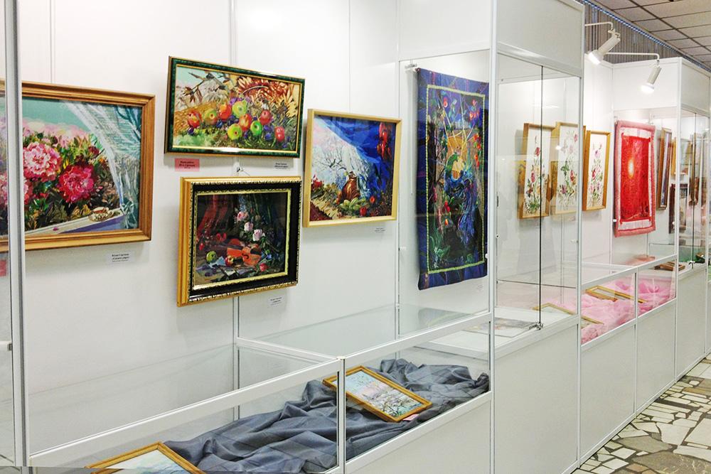 Выставка лоскутного шитья и батика