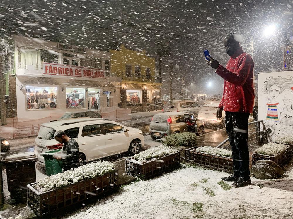 Снег в Бразилии