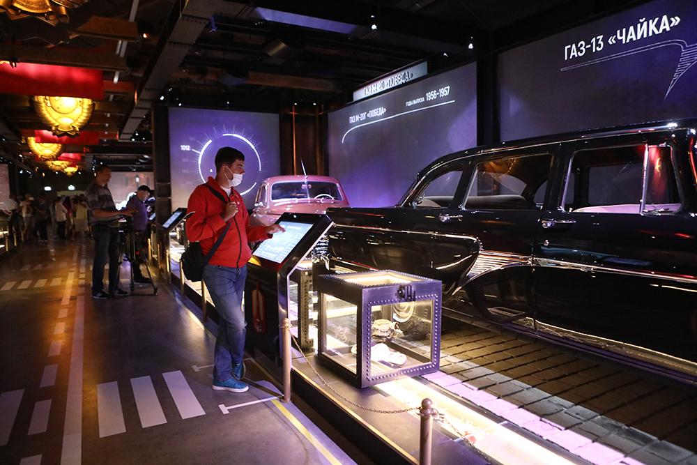 Музей гаража особого назначения ФСО России на территории ВДНХ