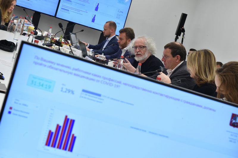Тестирование системы дистанционного электронного голосования в Москве